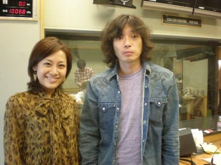 斉藤和義さんとお昼のVIPルームで.JPG