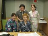 ゲストは室井佑月さん、秘密の話と名言を残してくれました。.JPG