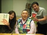 今日のゲストは松村邦洋さん.JPG