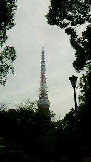 増上寺脇から見た戦後のシンボル